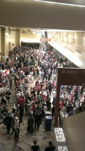 The crowd at Phoenix Comicon Sat. May 25, 2013.