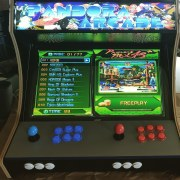 arcade bar top cabinet