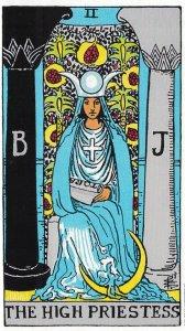 Tarot #2 high priestess